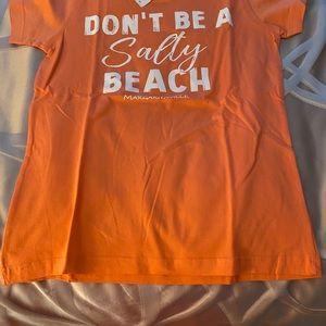 🍸Sale NWT Margaritaville Ladies Orange T-Shirt